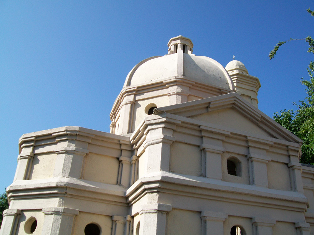 Bilder 6. Zwei Ansichten des vollendeten Domes