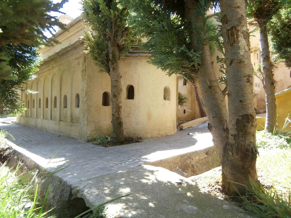 Bild 9. Die Apsis der Basilika