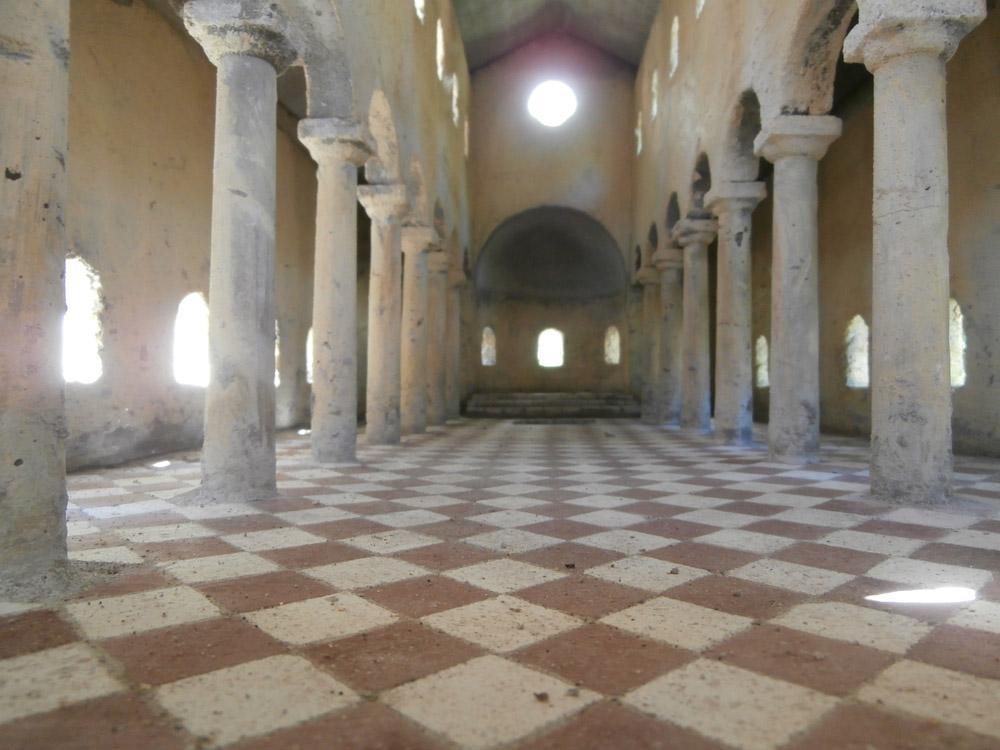 Bild 9. Der Boden der Basilika