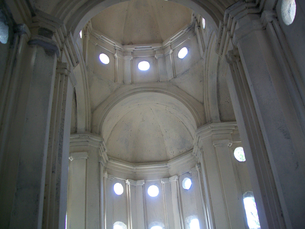 Figure 12. The interior of the church