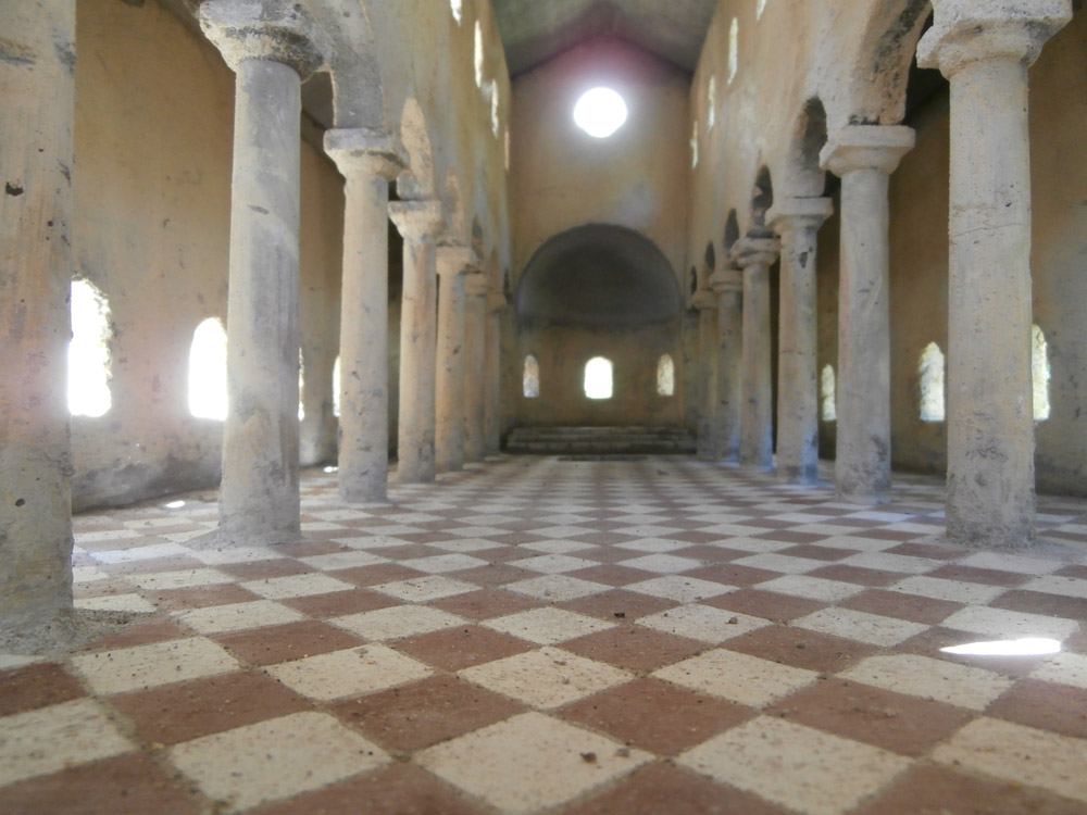 Figure 9. The floor of the early Christian basilica