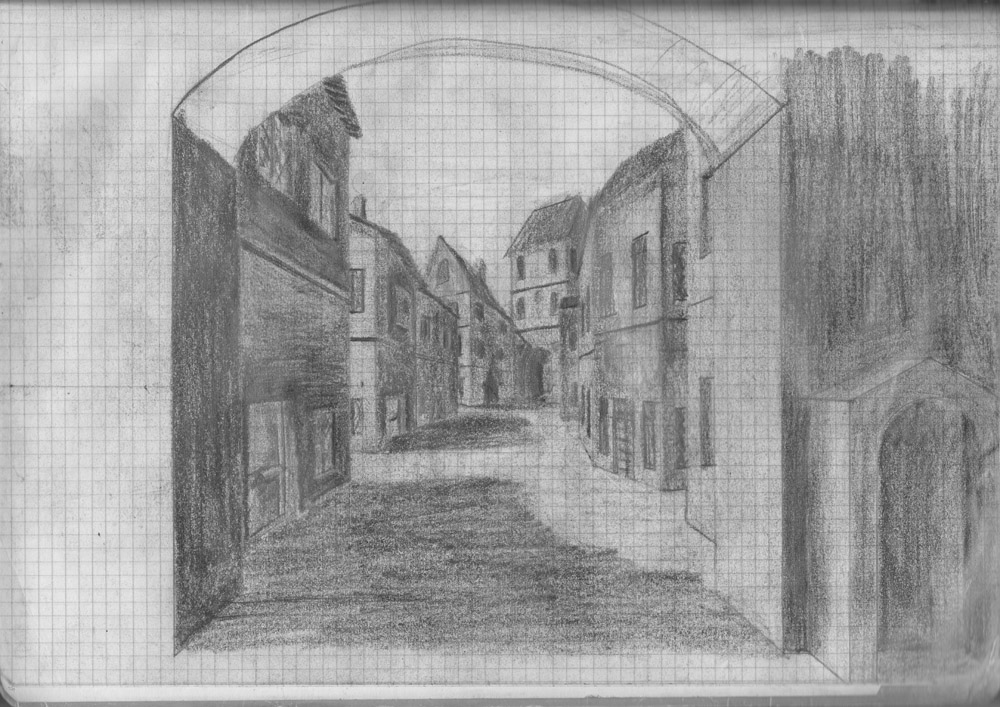 Figure 6. Imaginary sketch of the city