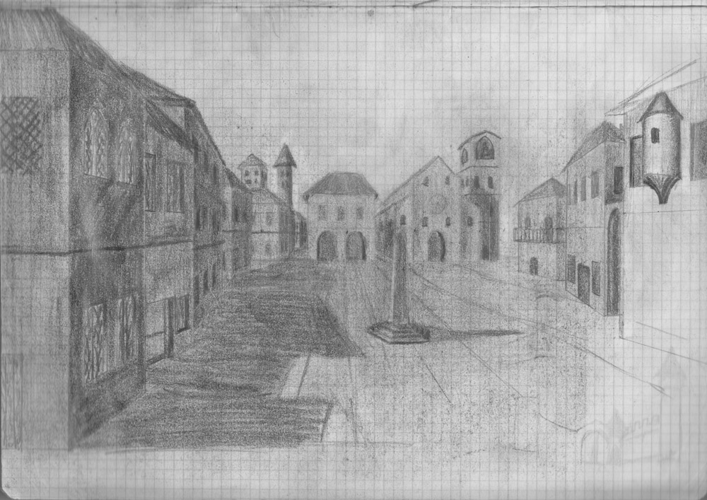 Figure 7. Imaginary sketch of the city