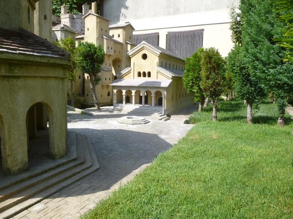 Figure 5. The facade of the basilica