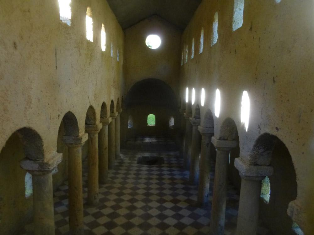 Figure 8. The interior of the basilica