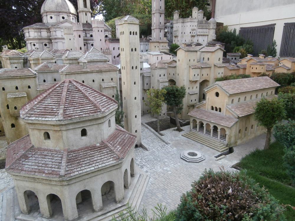 Figura 10. Vista d'insieme del complesso paleocristiano