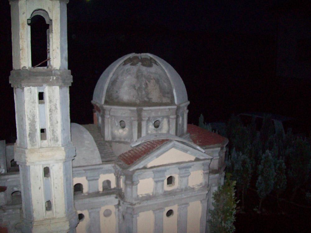 Figura 5. La cupola esterna durante la costruzione