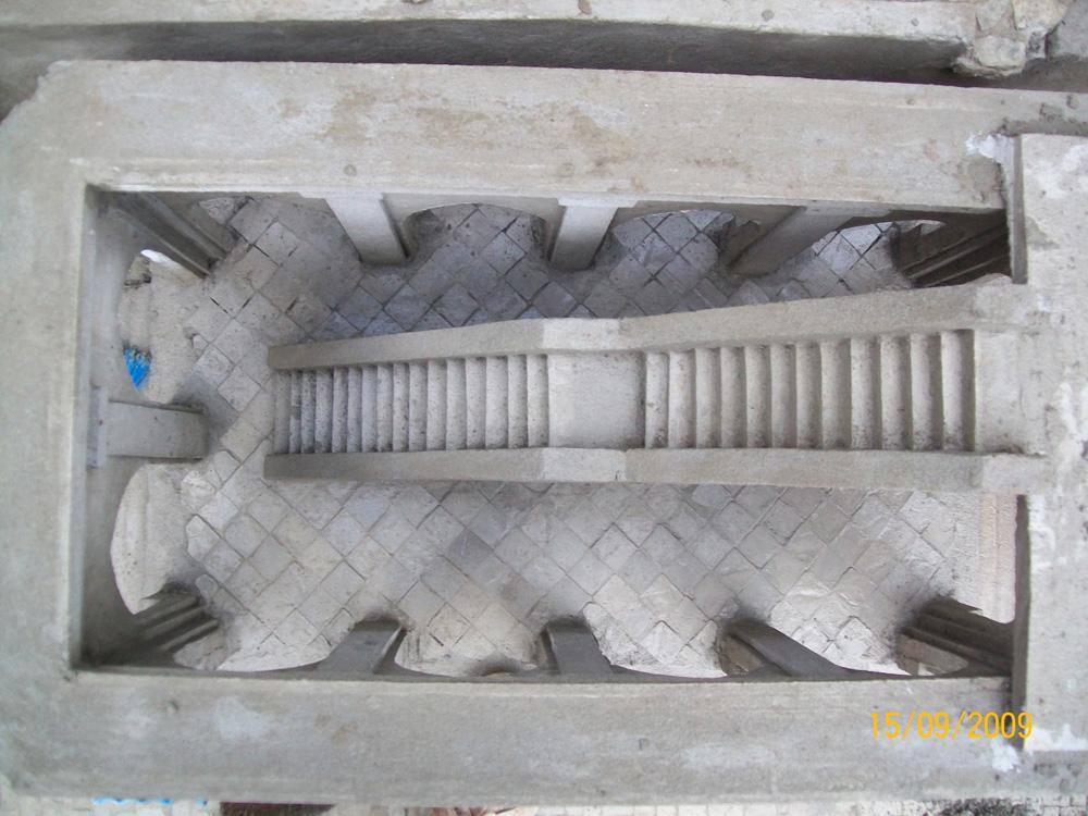 Figura 18. L'interno del palazzo situato di fronte al duomo, durante la costruzione